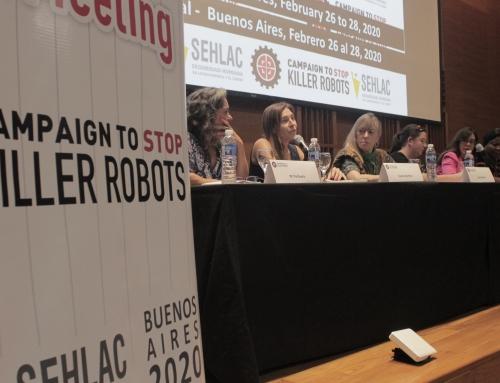 Difusión de la campaña global Stop Killer Robots